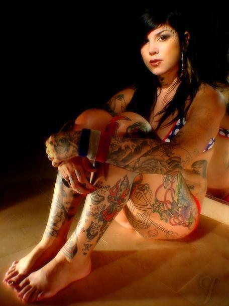 Kat LA Ink Tattoos