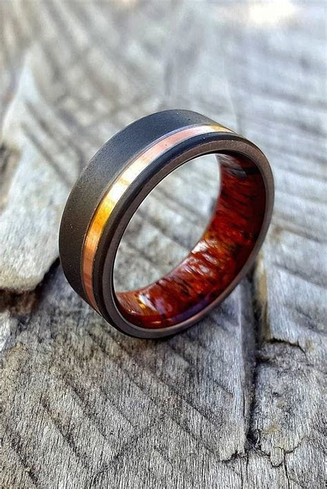 mens wedding bands   stylish    perfect proposal