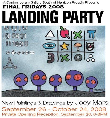 Joey Mars, landing party