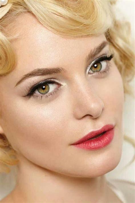 Best 25  Vintage bridal makeup ideas on Pinterest