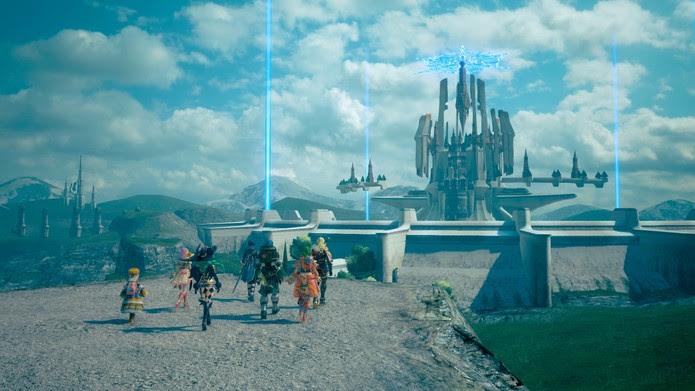 Os belos cenários de Star Ocean: Integrity and Faithlessness (Foto: Divulgação/Square Enix)