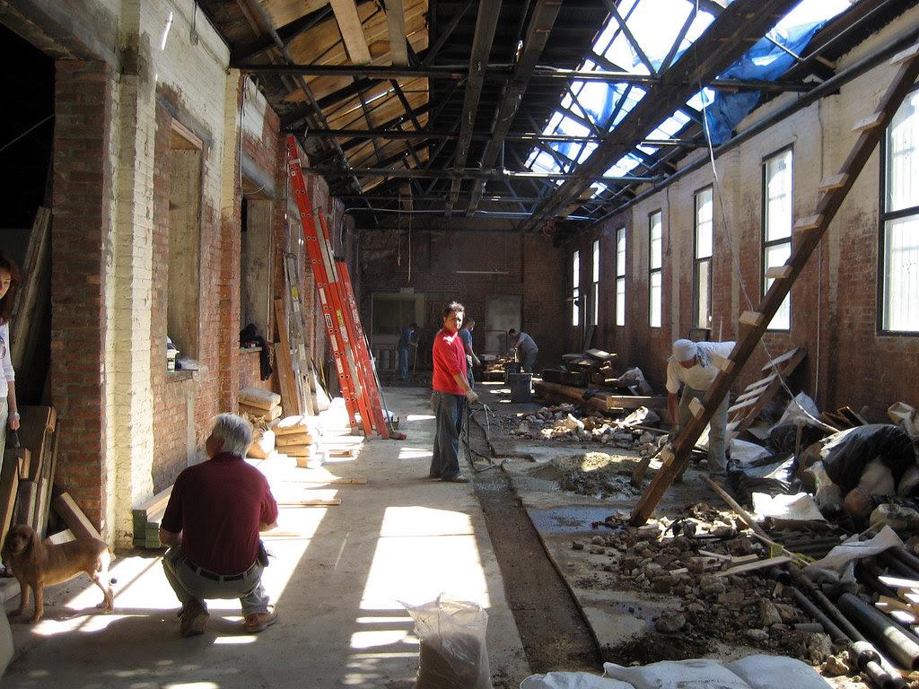 Radegast Hall (?) New Williamsburg Biergarten