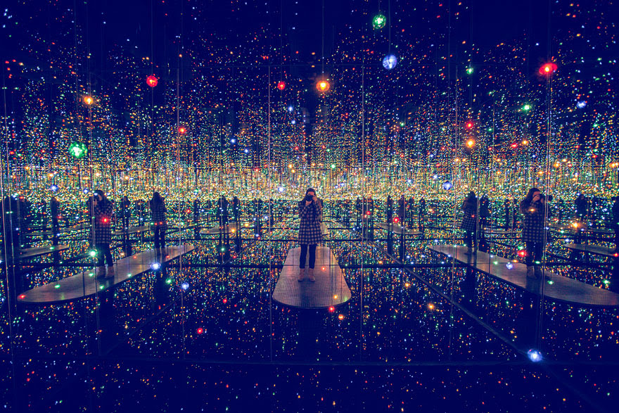 mirrored room