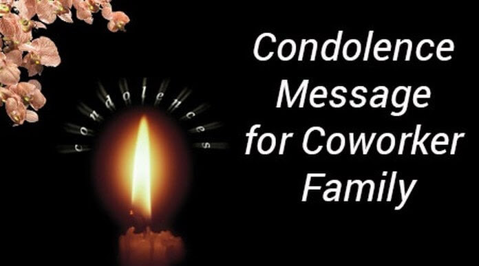 condolence message on demise of father