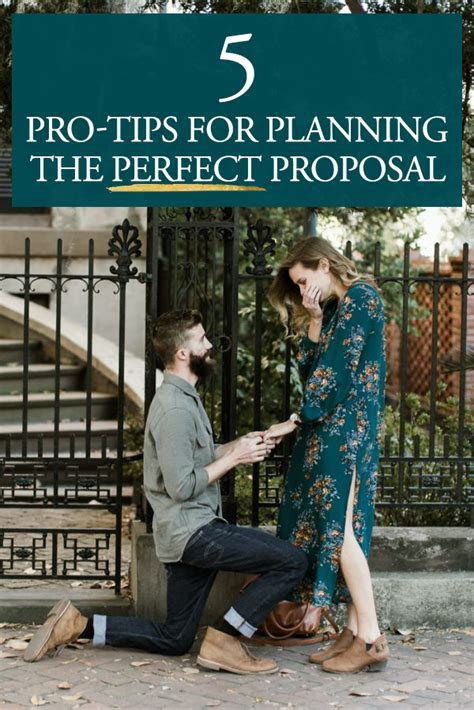 5 Pro Tips for Planning the Perfect Proposal   Junebug