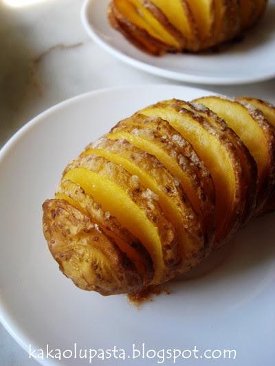 Garlic Hasselback Potato _5