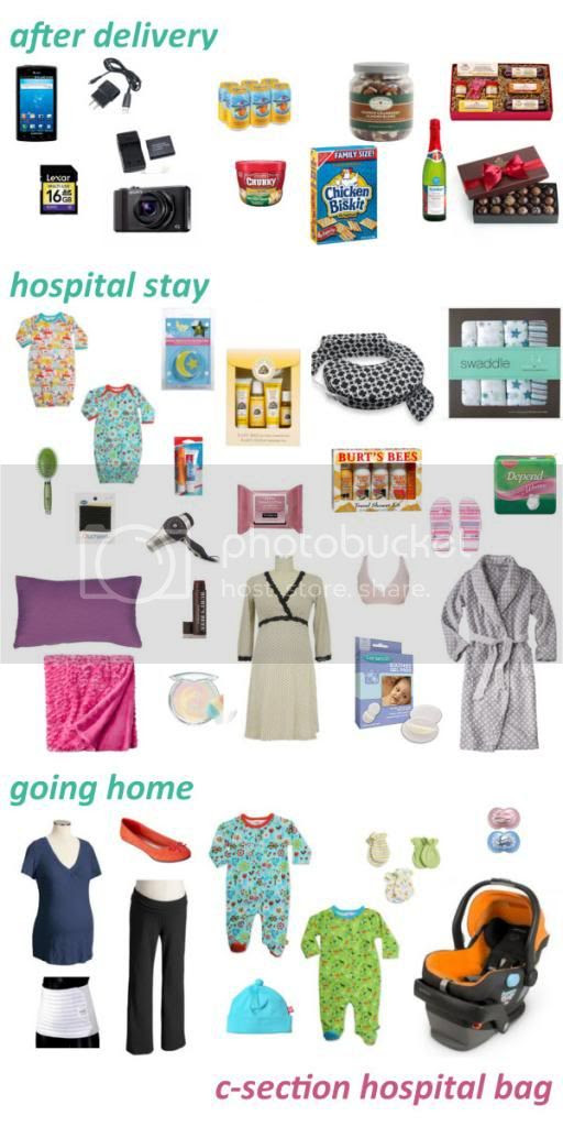 Our Jolly Life: C-section hospital bag