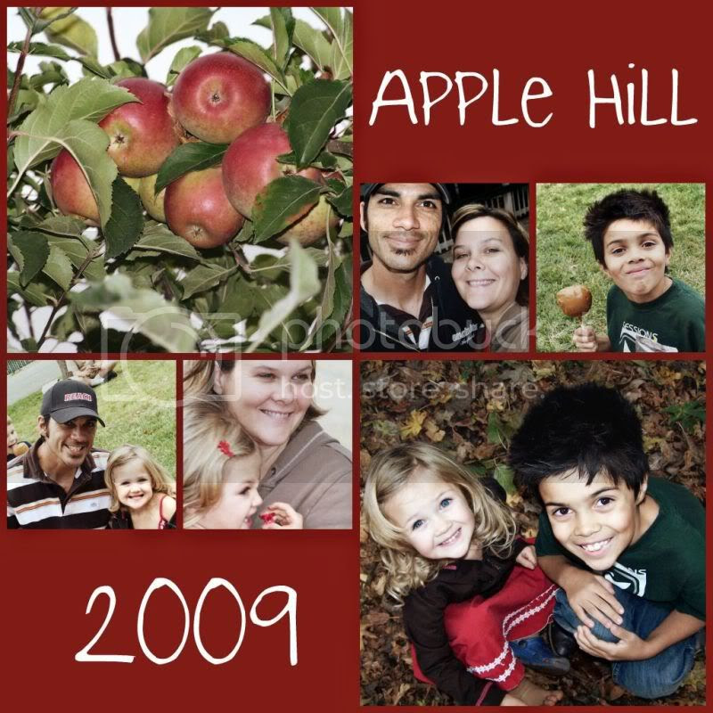 apple hill collage