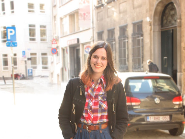 Plaid, Denim and Toggle Coat and Blog-Hating