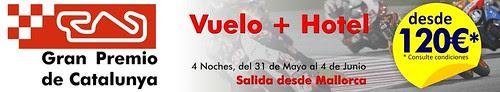 OFERTA VUELO+HOTEL GRAN PREMIO DE CATALUNYA