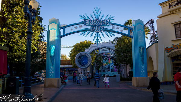 Disneyland Resort, Disney California Adventure, Frozen Fun, Frozen, Hollywood Land, Animation, Building