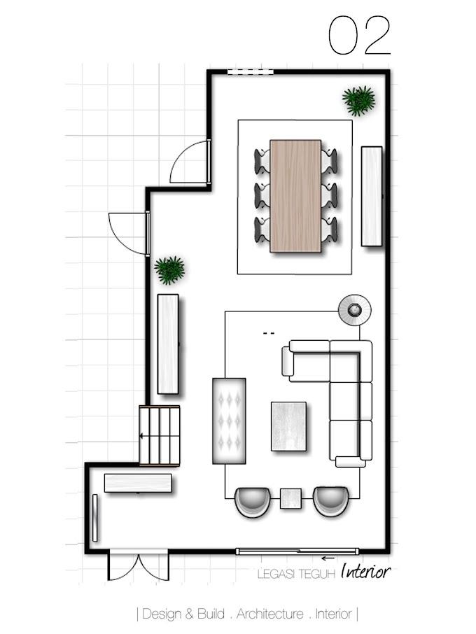 Cermin Hiasan Dinding Ruang Tamu | Ide Rumah Minimalis