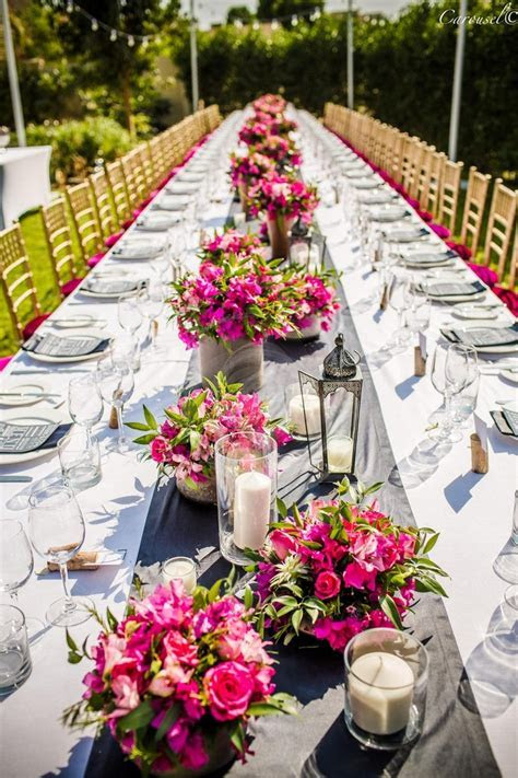 Bougainvillea centerpieces   Eventscapes   Pinterest