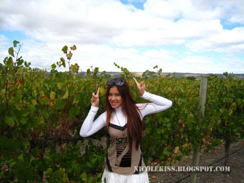 me in vineyard