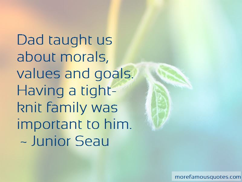 Family Morals Values Quotes Top 2 Quotes About Family Morals Values