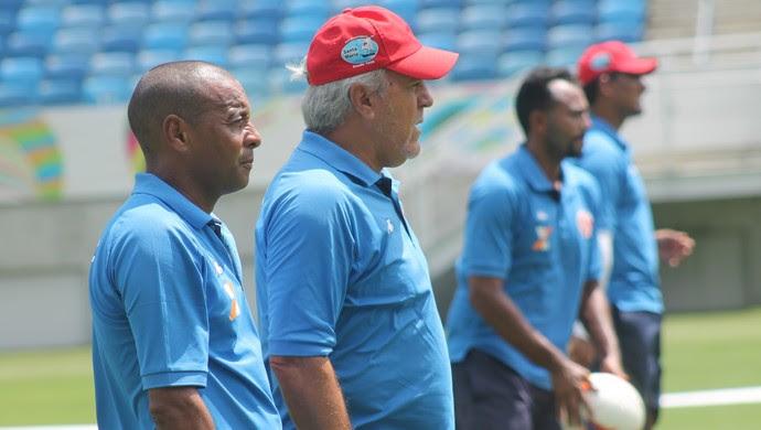 Aluísio Moraes - técnico do América-RN (Foto: Canindé Pereira/Divulgação)