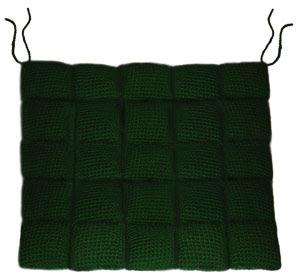 crochet chair cushion