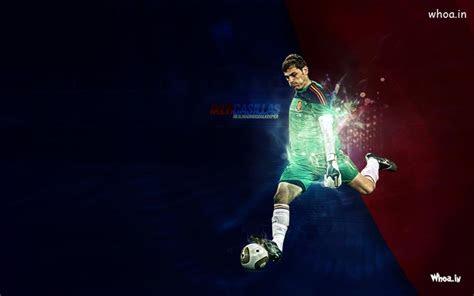 iker casillas real madrid goalkeeper kick  football hd
