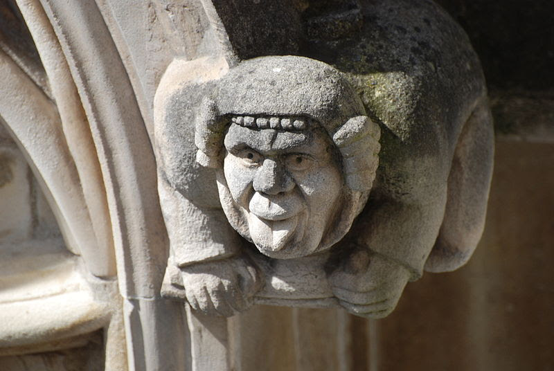 File:Gargoyle Sticking Out Tongue.JPG