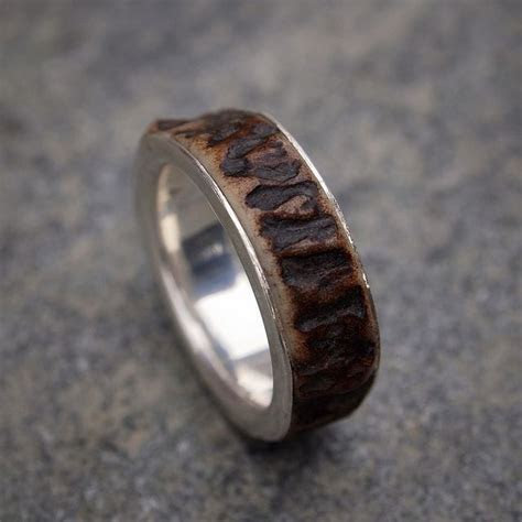 Deer Antler Ring   Wedding   Deer antler ring, Antler ring