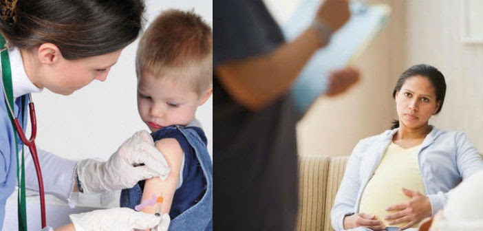 Εμβολιασμός παιδιών - Μαθήματα για εγκύους