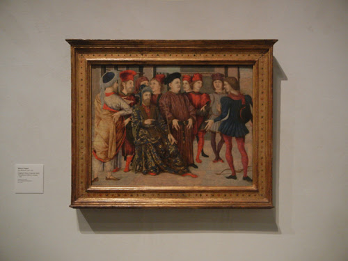 DSCN7969 _ Fragment from a Cassone Panel 'Shooting at Father's Corpse', c. 1462, Marco Zoppo (1433-1478, LACMA
