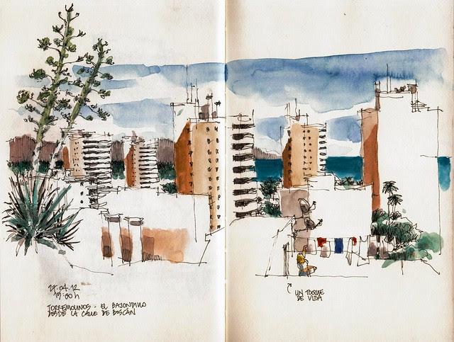 Torremolinos, urbanización Playamar