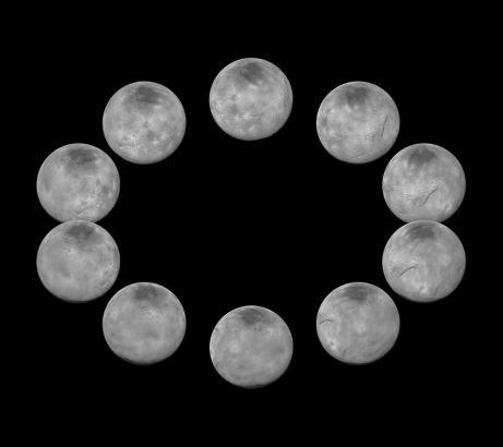 Hình ảnh Công bố thêm ảnh cận cảnh Sao Diêm Vương số 4