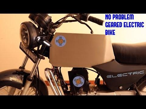 Petrol Scrap Bike to Cyber Electric Geared Bike