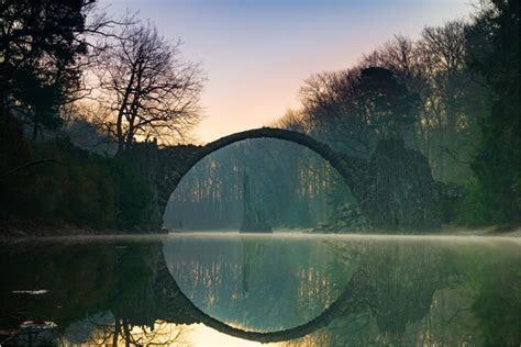 Rakotzbrücke Devil's Bridge ? Gablenz, Germany   Atlas Obscura