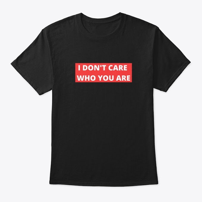 I Don't Care Who You Are - Minimal