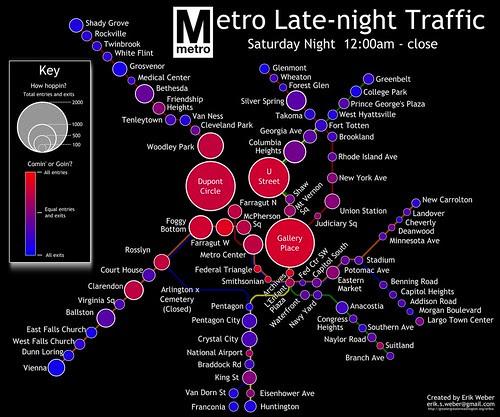 Late Night Metro Traffic
