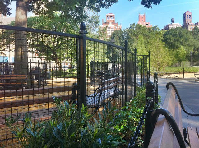Washington Square Park, small dog run