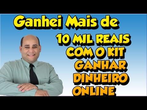Afiliados com ganhos 10.000,00 Reais. Kit ganhe dinheiro online!