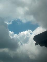 ciel du 20 avril 2005