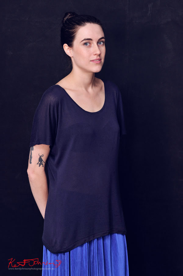 Amanda, Two Sisters - Natural Beauty Studio Portrait
