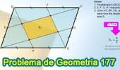 Problema de Geometría 177 (ESL): Paralelogramo, Puntos medios de los lados.