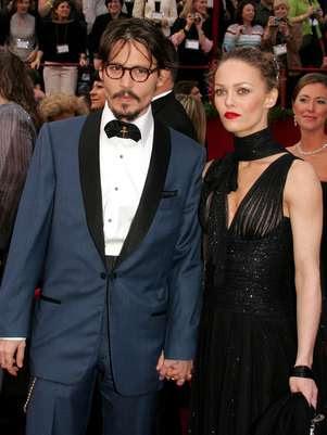 Depp e Vanessa Paradis ficaram juntos por quase 15 anos e tiveram dois filhos Foto: Getty Images