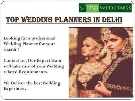 Top Wedding Planners in Delhi