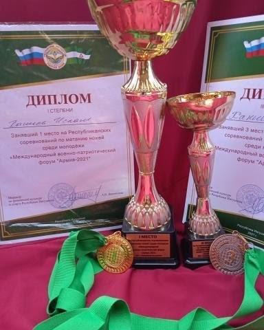 Кадет Ислам Ханиев стал победителем ипризером соревнований врамках форума «Армия-2021»
