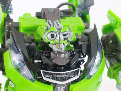 Transformers Skids RotF Human Alliance - modo robot