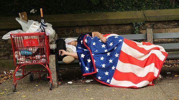 Estados Unidos es el país desarrollado con mayor índice de desigualdad. Foto: Getty Images.