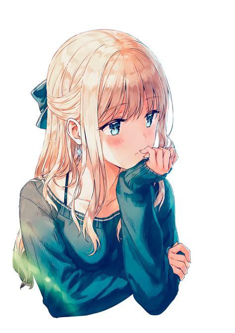 anime girl render  skarletrose  deviantart