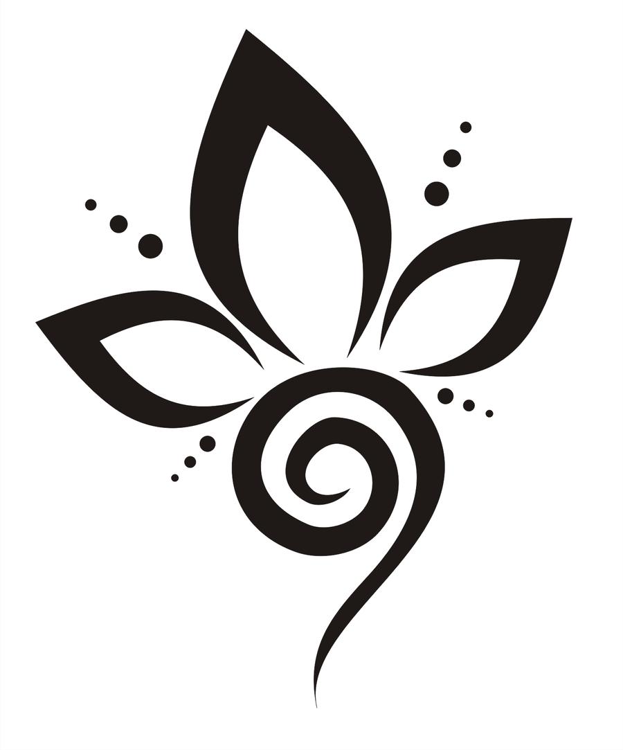Flower Outline Tattoos Best Tattoo Design Ideas Tattoo Ideas By
