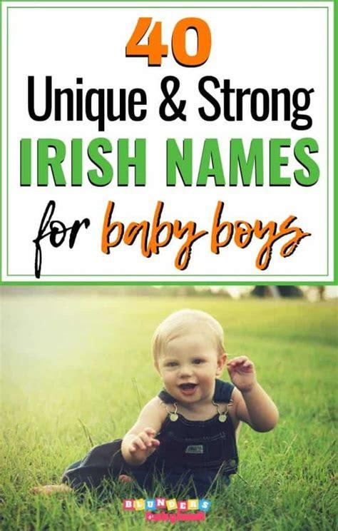 timeless unique irish boy names