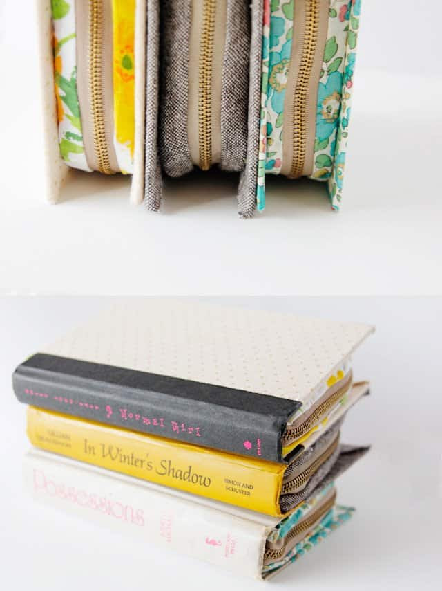 book clutch tutorial //