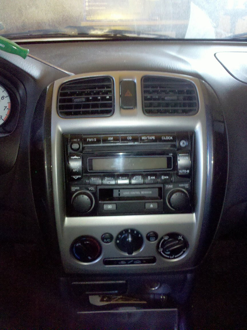 2002 Mazda Protege Radio Wiring Diagram