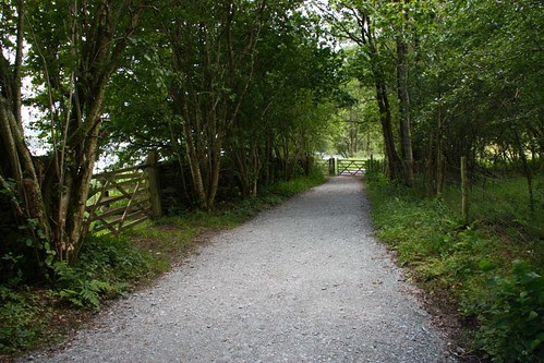Gates and Path near Wray Castle on Windermere