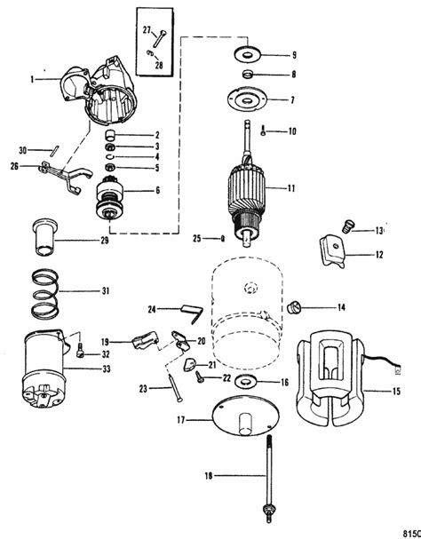 MerCruiser 3.0LX GM 181 I / L4 1990-1995 Starter Motor