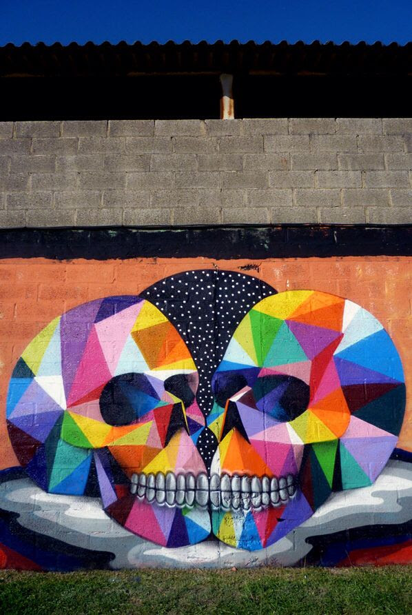 By Okuda in Cantabria, Spain - 2011
